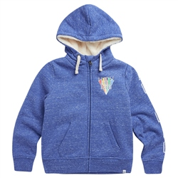 Animal Callie Zipped Hoody -  Amparo Blue