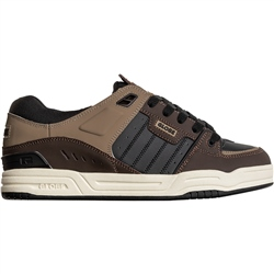 Globe Fusion Shoes - Black & Brown