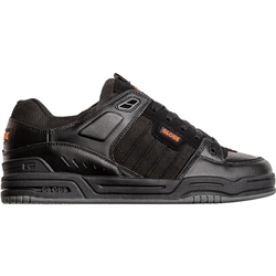 Globe Fusion Shoes - Black & Orange