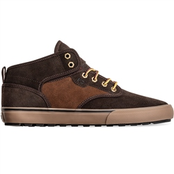 Globe Motley Mid Shoes - Brown & Tan