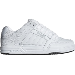 Globe Tilt Shoes - White & White