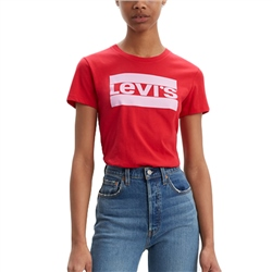 Levi's Perfect T-Shirt - Brilliant Red