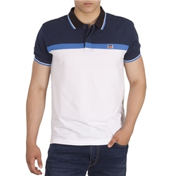 Levi's Sportswear Polo Shirt - White & Blue