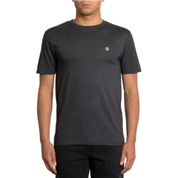 Volcom Circle Stone T-Shirt - Heather Black