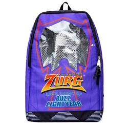 Hype Zurg Box Backpack - Purple & Multi