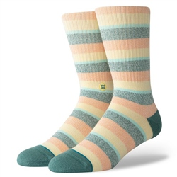 Stance Sliced Socks - Melon
