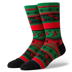 Stance Stocking Stuff Socks - Green