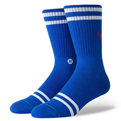 Stance Vibe Rainbow Socks - Blue