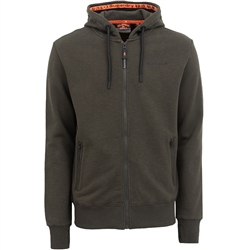 Superdry Urban Athletic Zipped Hoody - Olive