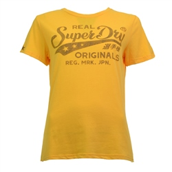 Superdry Real Originals T-Shirt - Ochre