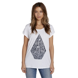 Volcom Womens Radical Daze T-Shirt - White