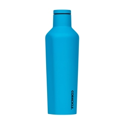 Corkcicle Neon Lights Canteen 16oz Bottle - Neon Blue