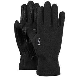Barts Mens Fleece Gloves - Black