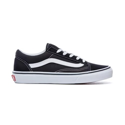 Vans Boys Old Skool Shoe - Black & White