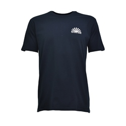 Salt Water Seeker Line Up T-Shirt - Navy