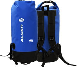 Alder 40L Dry Backpack - Blue