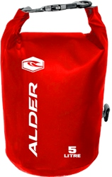 Alder 5Ltr Dry Bag - Red