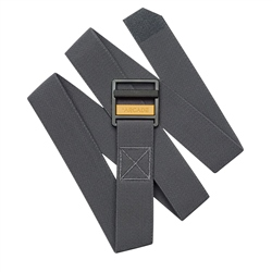 Arcade Guide Belt - Charcoal & Gold