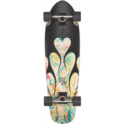 "Globe Big Blazer 32"" Skateboard - Black & Resin"