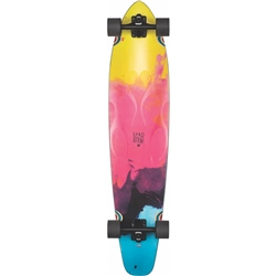 Globe Byron Bay Skateboard - Clear Flame