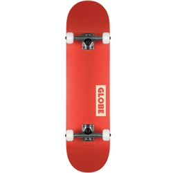 Globe Goodstock Skateboard - Red
