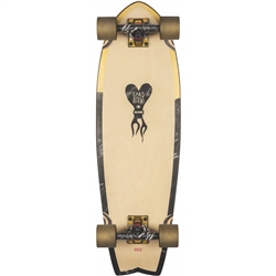 "Globe Sun City 30"" Skateboard - Gold & Marble"