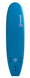 "Vision Ignite 7'0"" Softboard - Blue Psychedelic"