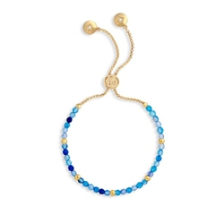 Joma Jewellery Blue Friendship Bracelet - Blue