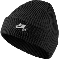 Nike SB Fishermans Beanie - Black & White