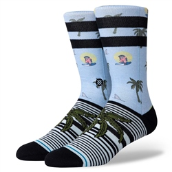 Stance Al Monkey Socks - Blue