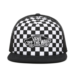Vans Patch Trucker Cap - Black & White