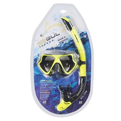 Gul Taron Mask & Snorkel - Yellow & Black