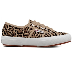Superga 2750-Fantasy Cotu Shoe - Beige Jaguar
