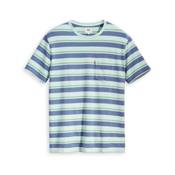 Levi's Set In Sunset Pocket T-Shirt - Clearwater Rivers