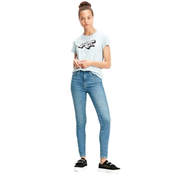 Levi's Mile High Super Skinny Jeans - Better Safe Than Sorry