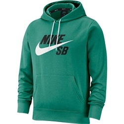 Nike SB Icon Hoody - Neptune Green & White