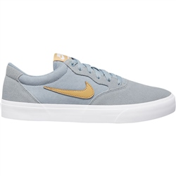 Nike SB Chron Solarsoft Shoe - Obsidian Mist & Club Gold