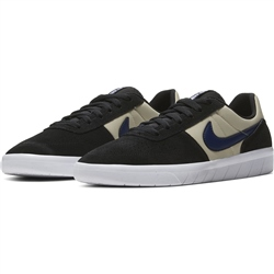 Nike SB Team Class Shoe - Black & Navy Fossil White