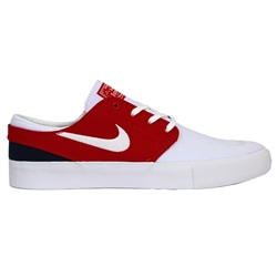Nike SB Zoom Stefan Janoski Canvas RM Shoe - White, Red & Midnight Navy