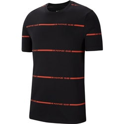 Nike SB On Deck Stripe T-Shirt - Black
