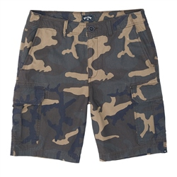 Billabong Scheme Cargo Walkshorts - Military Camo