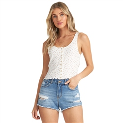 Billabong Find A Way Top - Whisper White