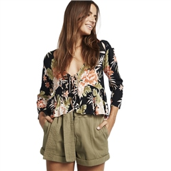 Billabong Take Me On Top - Black Floral