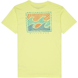 Billabong Warchild T-Shirt - Neo Lemon