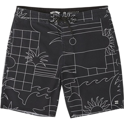 Billabong Lo Tides Sundays Boardshorts - Black