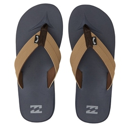 Billabong All Day Impact Flip Flops - Navy