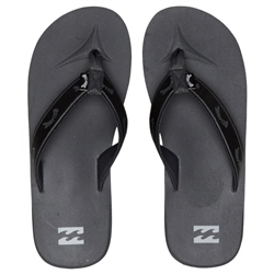Billabong All Day Woven Flip Flops - Charcoal