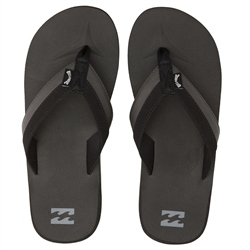 Billabong Mens All Day Impact Flip Flops - Black