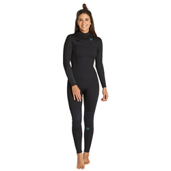 Billabong Furnace Synergy 4/3mm Wetsuit - Black