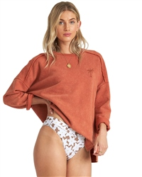Billabong Eco Sweatshirt - Henna